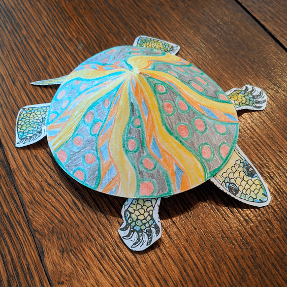 Download: Turtle Facts & Crafts Activity Sheet